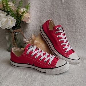 Converse All Star Red Shoes Unisex